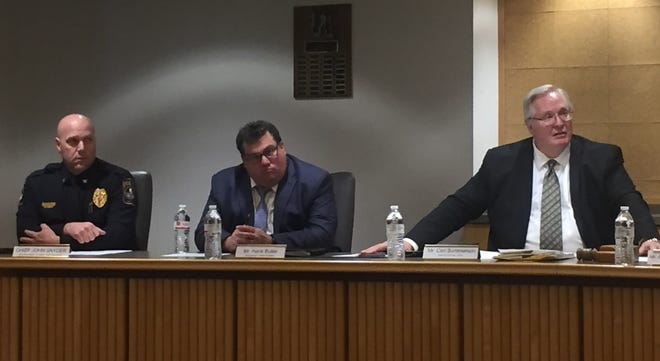 A panel hosted by the Pennsylvania Human Relations Commission on Thursday, Dec. 20 discussed the growing number of hate crimes across York County, the state and the nation. (Photo by Rebecca Klar)
