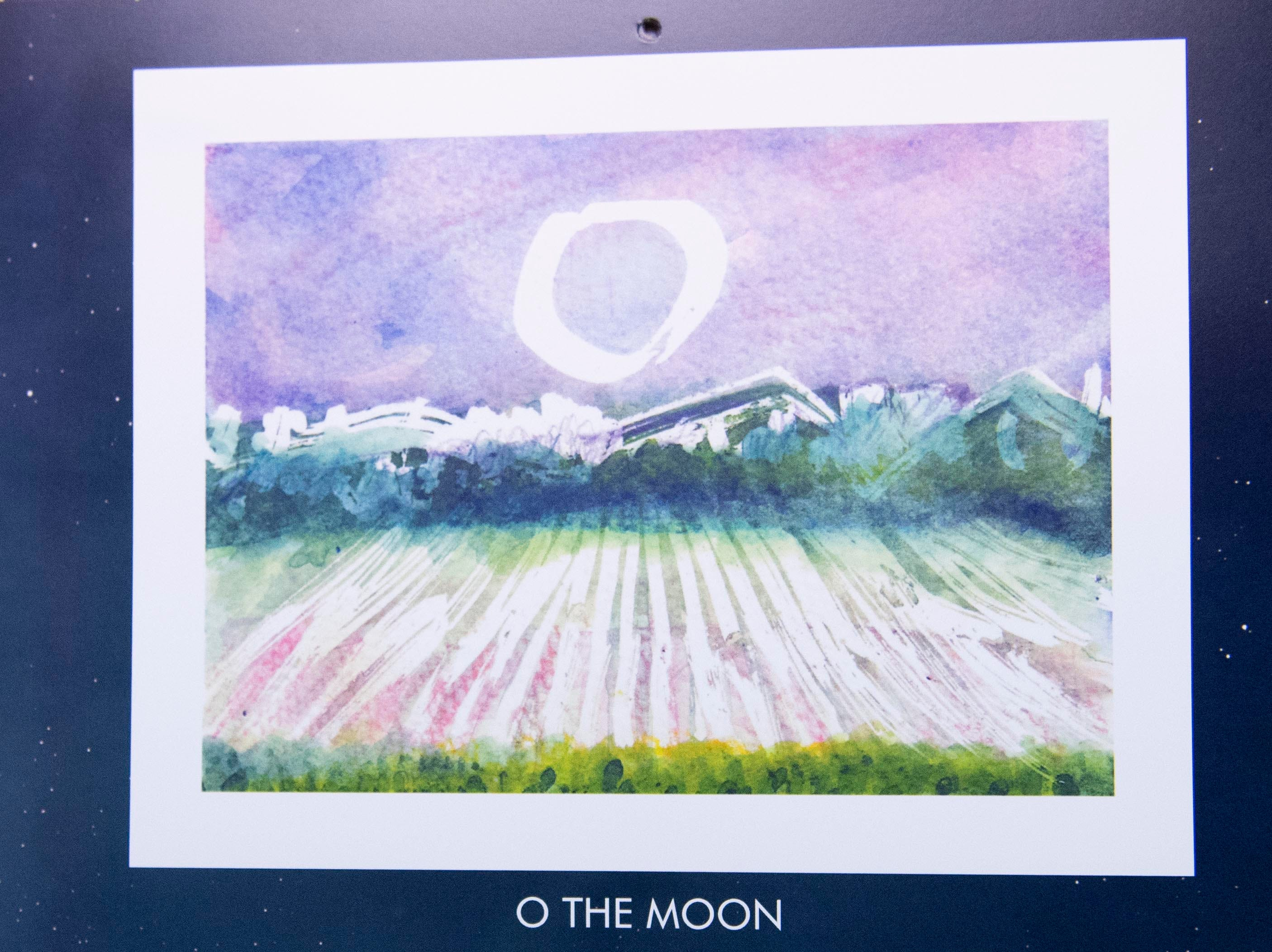 Many of Mary Magenta's paintings are from sunsets or sunrises, but she also says she finds joy in painting the nighttime, Magenta's 2019 calendar, 'Around Here,' features many places from York County.