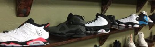 The shoes Matthew Watson reportedly stole.