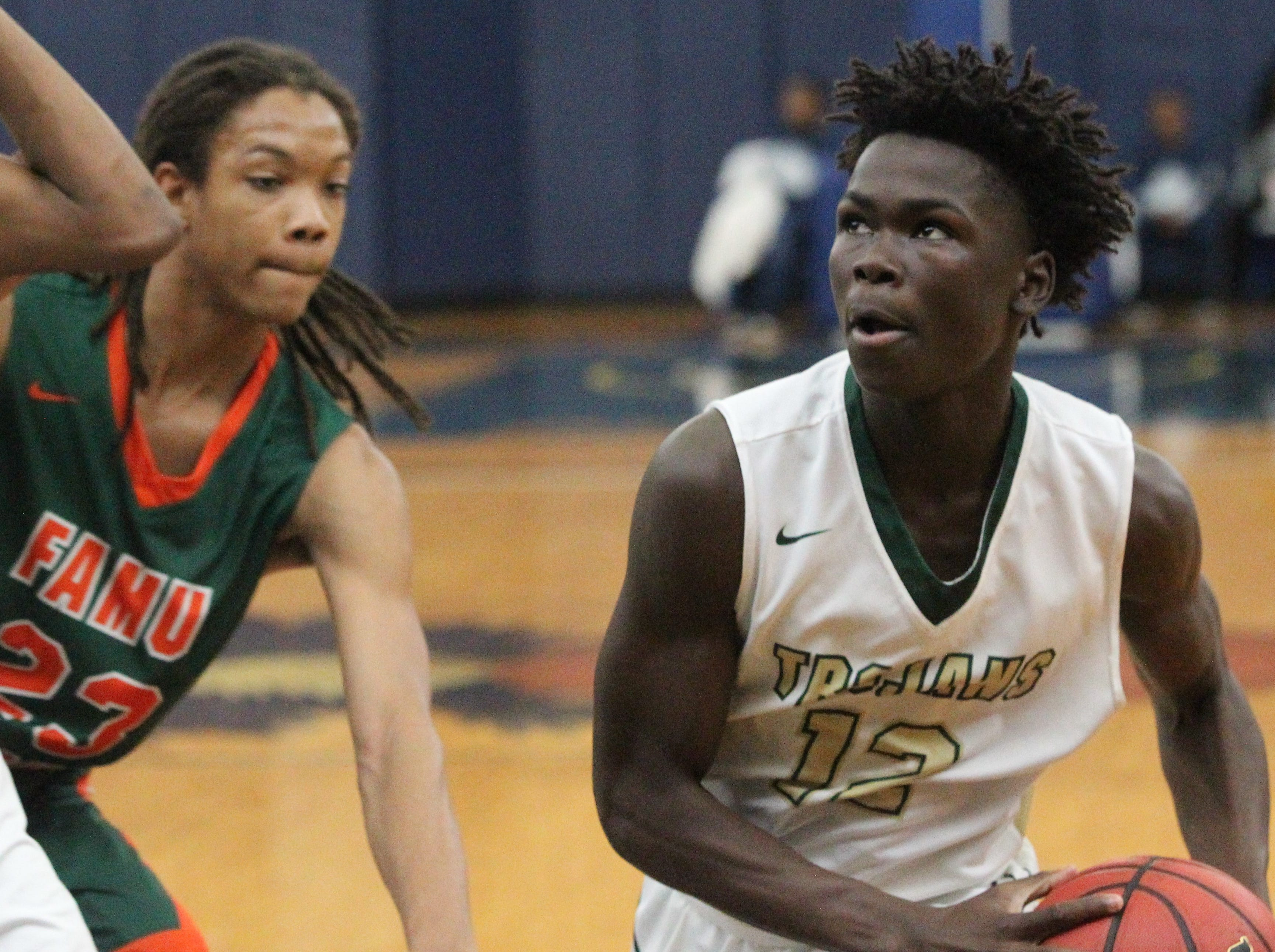 Lincoln and FAMU DRS play at the Capital City Holiday Classic.