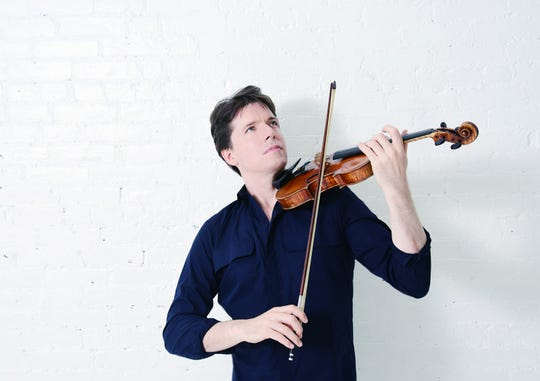 Violinist Joshua Bell is coming back to Opening Nights in January.