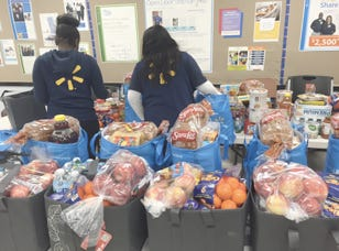 Walmart donates food to help with hunger in the Big Bend.