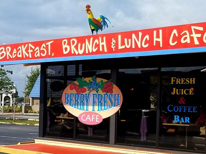 Berry Fresh Cafe is at 1429 S.E. Federal Hwy. in Stuart.