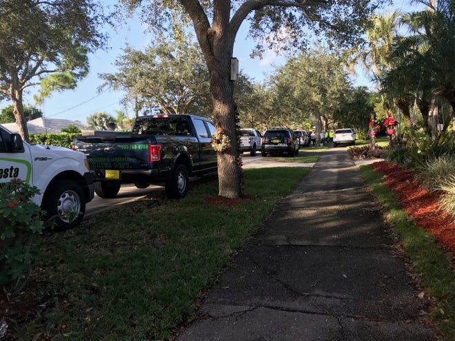 Crews respond to a house on Country Club Drive in Tequesta that caught fire overnight Thursday, Dec. 20, 2018.