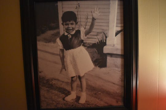 Pictures of Virginia Xedos fill the home she shared with her husband, Tom. She died on Dec. 10.