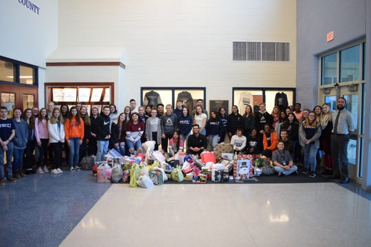 Cumberland County Technical Education Center's Interact Club partnered with the Vineland Salvation Army for its eighth annual Holiday Toy Drive.