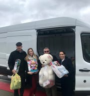 Cumberland County Technical Education Center's Interact Club partnered with the Vineland Salvation Army for its eighth annual Holiday Toy Drive. The Salvation Army's van was filled with more than 300 toys.