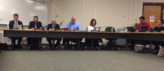 A unanimous Pittsgrove Township Board of Education on Thursday night upheld suspensions of high school wrestling team staff and students over an alleged 'hazing' incident.