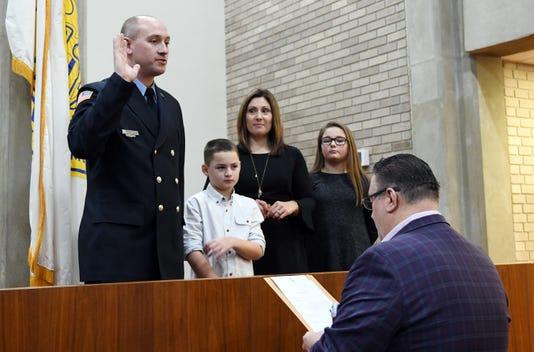 Vineland Firefighter Robert Strain Promoted Lieutenant