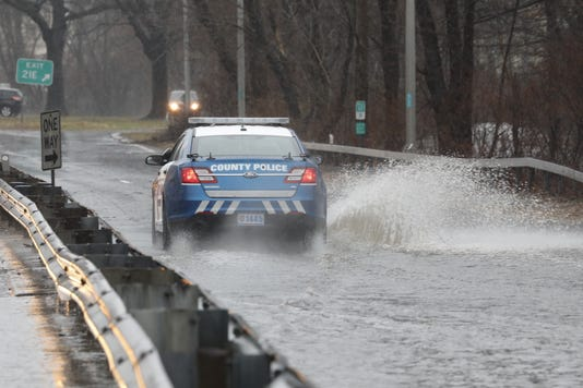 Saw Mill Parkway flooding