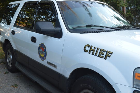 Michael Garcia gave up his chief's car when he abruptly resigned in 2017.