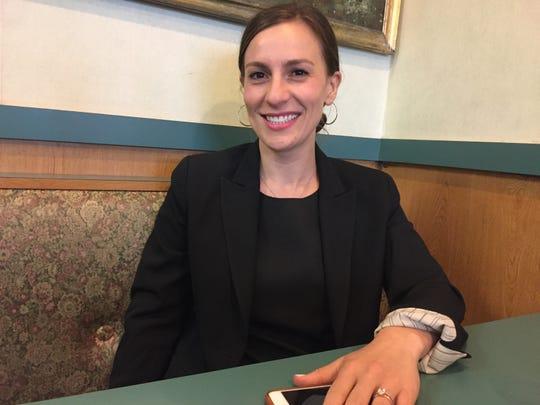 State Sen.-elect Alessandra Biaggi.