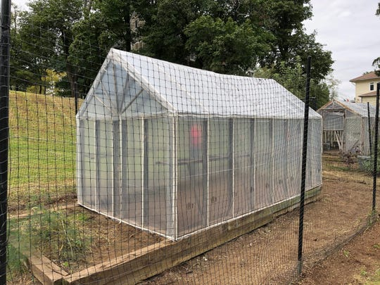 Refurbished Greenhouse at Children's Village.