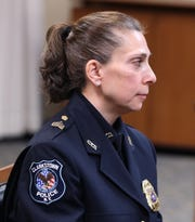 Clarkstown Police Lieutenant JoAnne Fratianni was appointed during a special meeting of the Clarkstown Town Board Dec. 20, 2018. She is the first woman promoted to Lieutenant in the department.