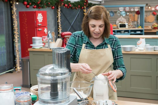 "Tina Zaccardi on ""The Great American Baking Show."""