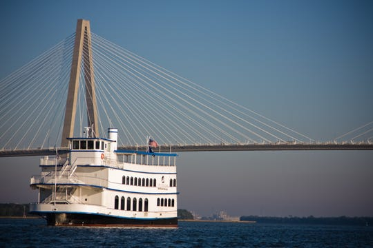 A SpiritLine Dinner cruise for two offers gorgeous sunset views.