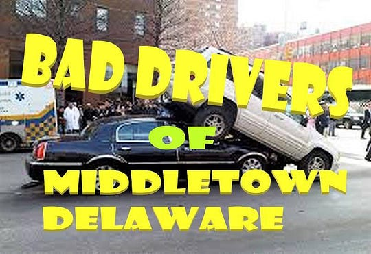 """A new Facebook group called """"Bad Drivers of Middletown"""" is catching on in the Middletown-Odessa-Townsend area as people have been posting video clips and photos of bad driving situations."""
