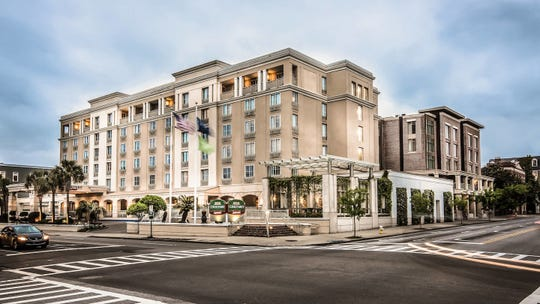 The newly renovated Courtyard by Marriott Charleston sits in the heart of the historic district.