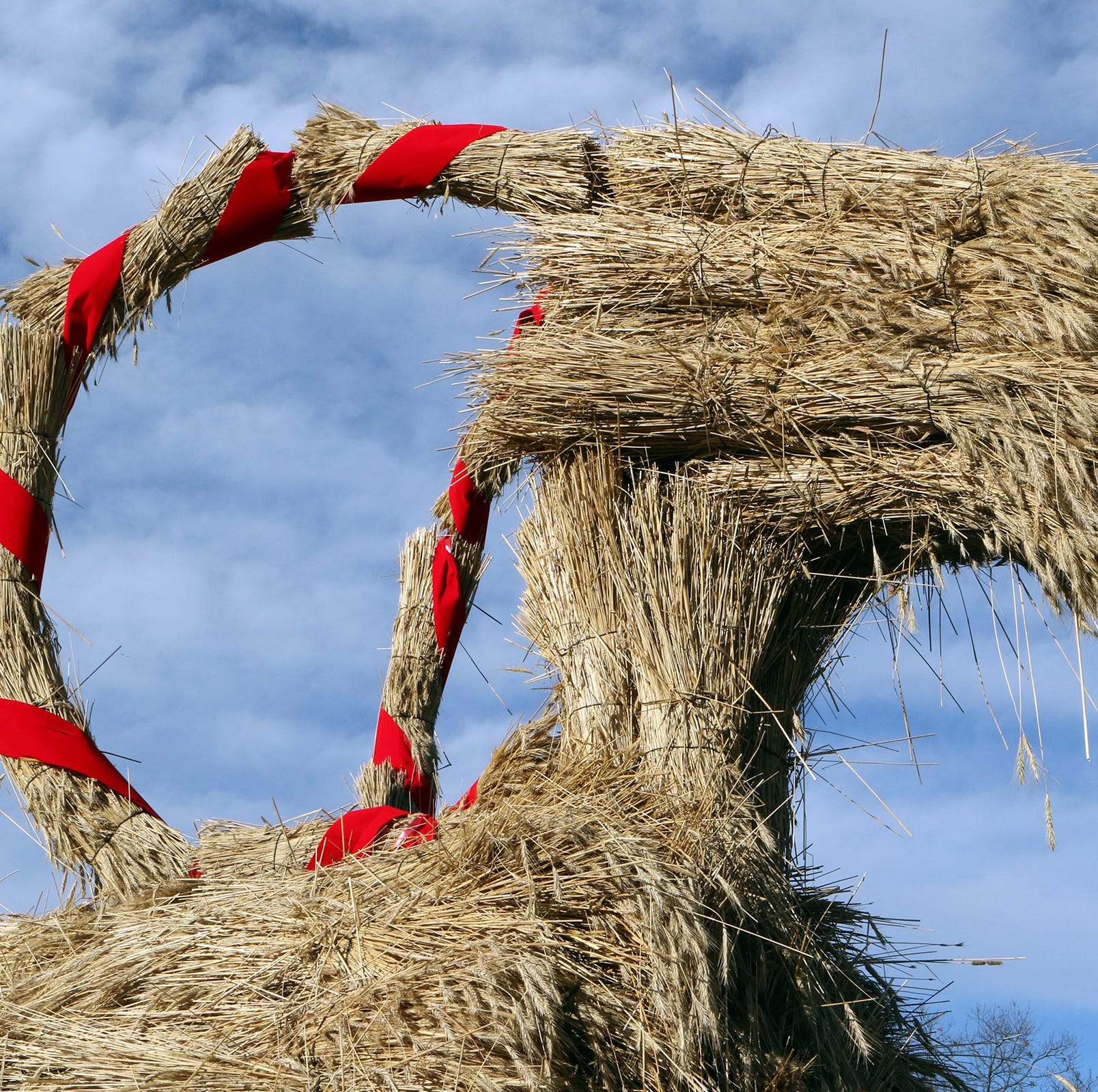A Yule goat for the holidays - and for good crops
