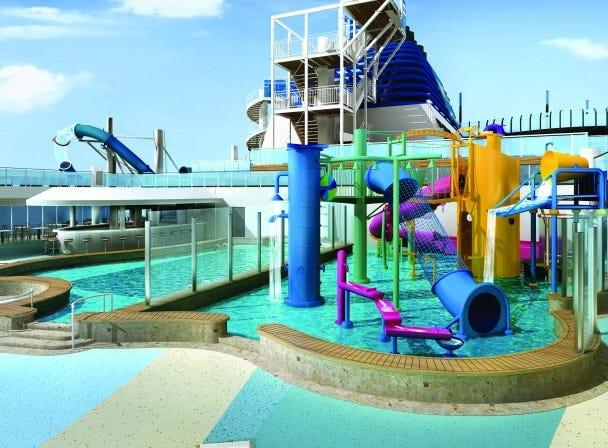 An Aqua Park for children is on the plans for Norwegian Encore.
