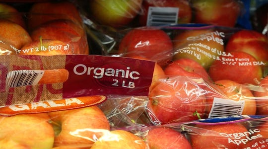The pegan diet advocates for eating organic produce.