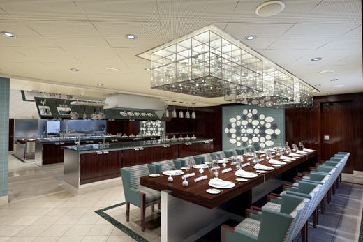 Another feature of Carnival Panorama will be a Chef's Table for special dinners.