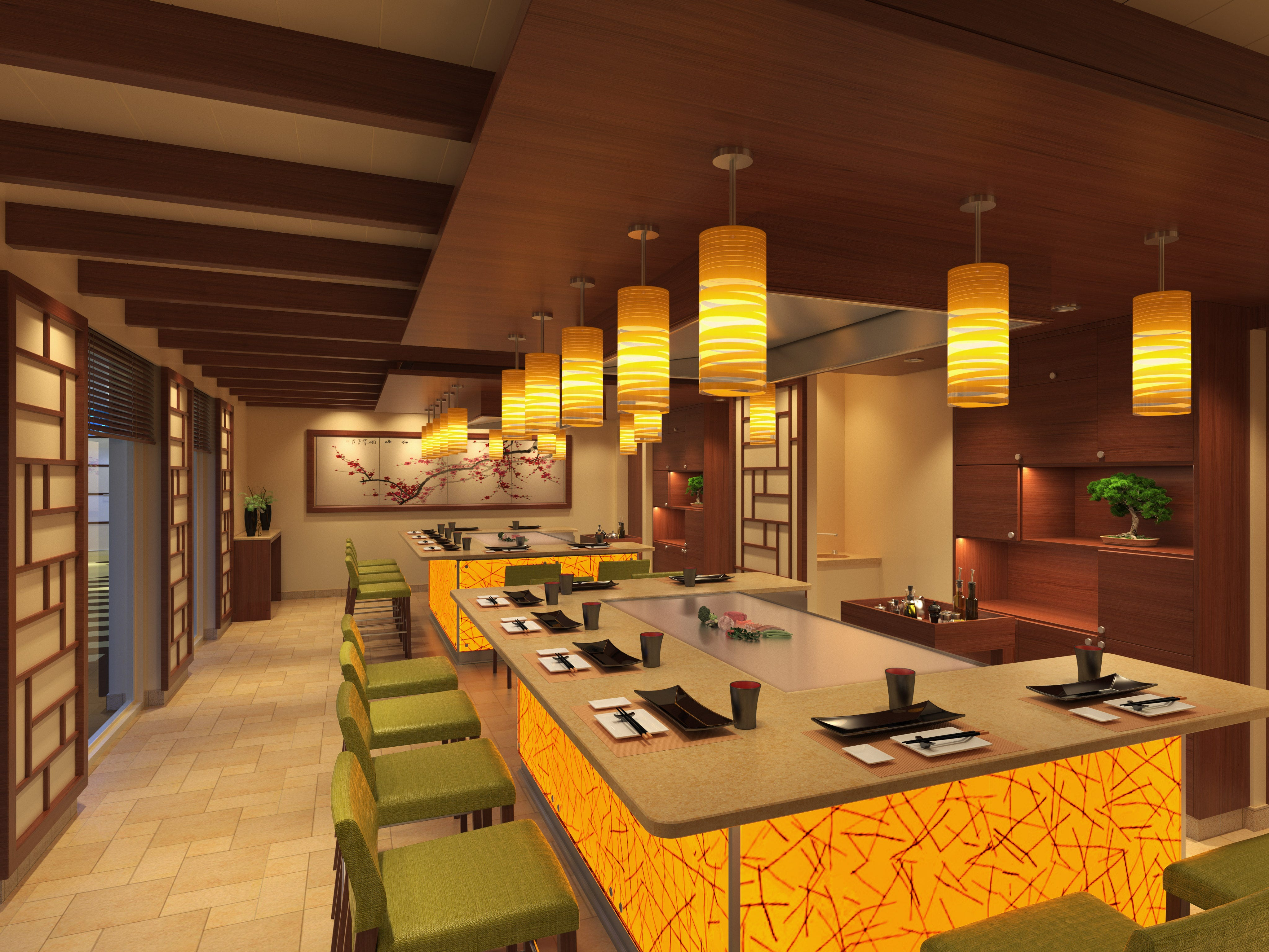 Among other eateries, Carnival Panorama also will have a teppanyaki restaurant.