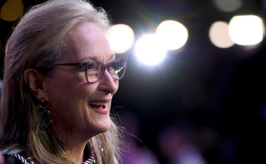 """Meryl Streep appears in """"Mary Poppins Returns"""" as the wacky Cousin Topsy."""