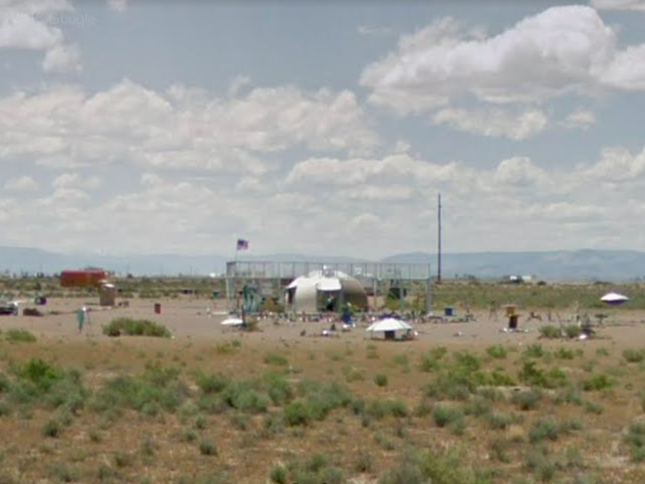Colorado: One of the more well-known roadside attractions in America is this UFO Watchtower off of Highway 17 in Hooper.