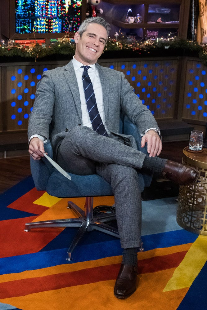 Andy Cohen reveals he's having a baby boy on CNN New Year's Eve special