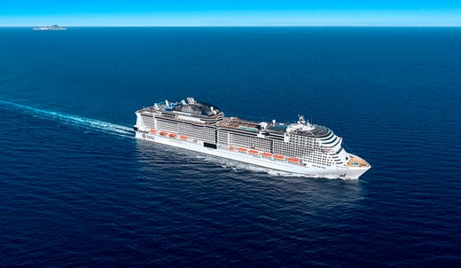 MSC Cruises in 2019 will unveil its biggest ship ever, MSC Grandiosa. It'll be a larger version of the line's MSC Meraviglia.