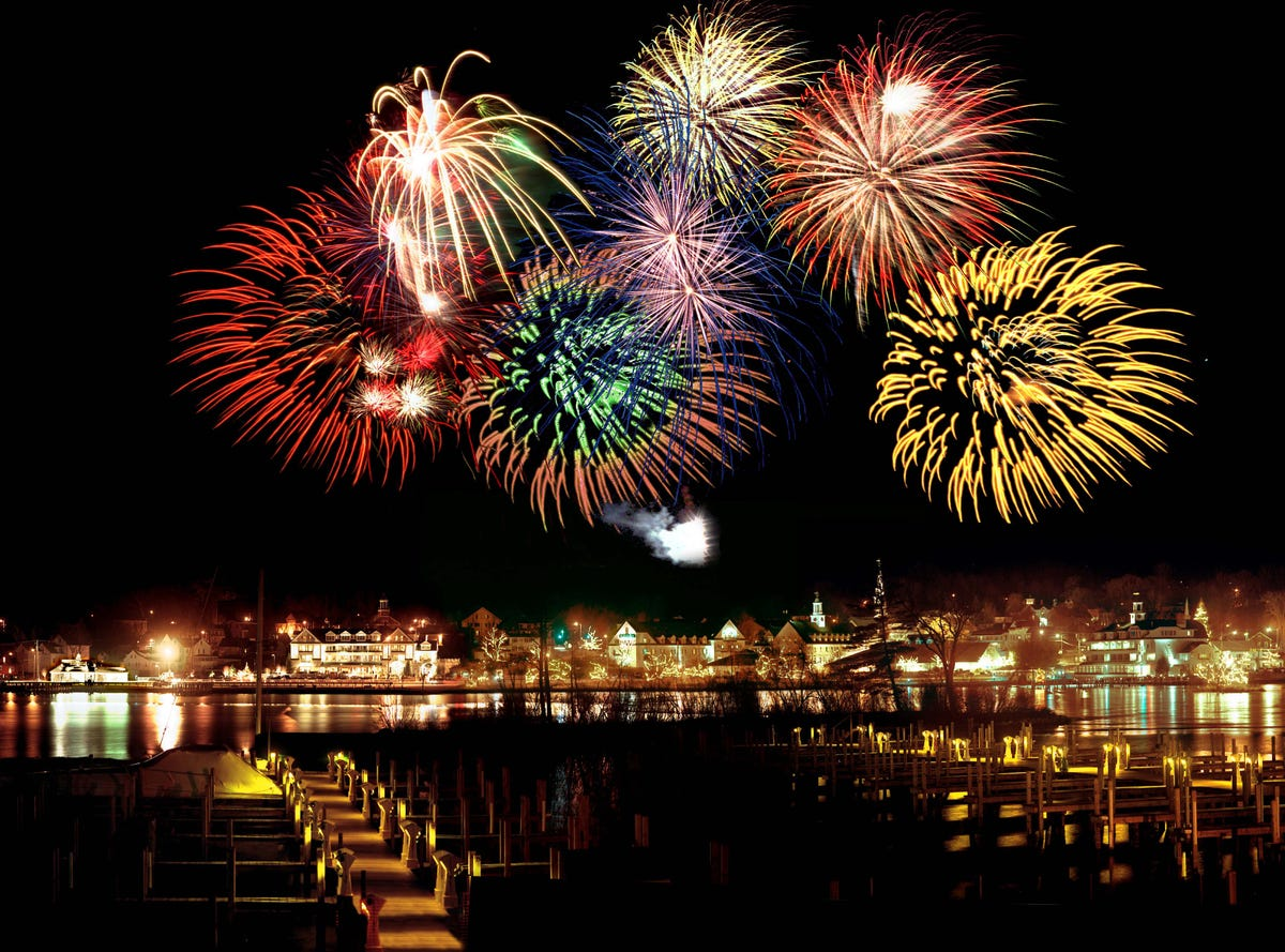 New Year's Eve fireworks: Best U S  cities for pyrotechnic
