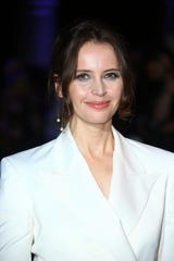 """Felicity Jones, 35, is best known for her roles in """"Rogue One: A Star Wars Story"""" and """"The Theory of Everything."""""""