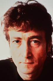 John Lennon of the Beatles is shown in this December1980 photo taken days before his death.