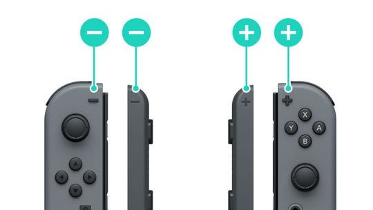 Nintendo Switch Joy-Con straps.