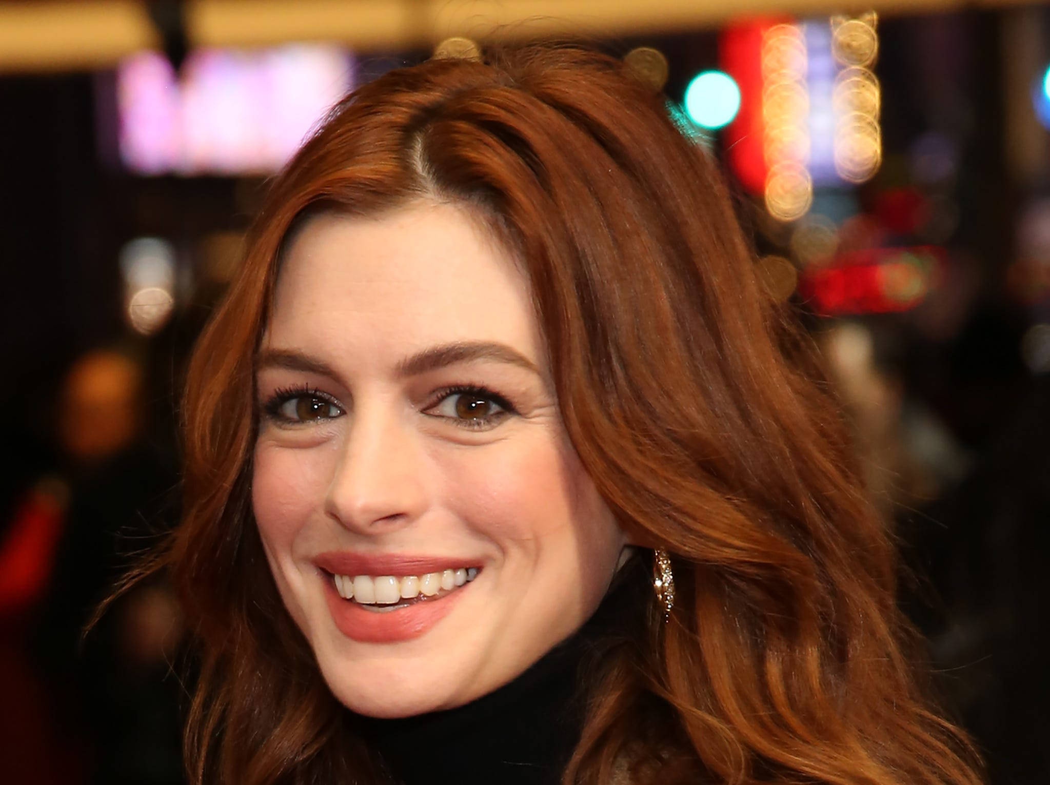 "In an 2014 interview with Howard Stern, Harvey Weinstein revealed Anne Hathaway was his first choice to play Jennifer Lawrence's role in ""Silver Linings Playbook,"" which later earned Lawrence an Oscar."