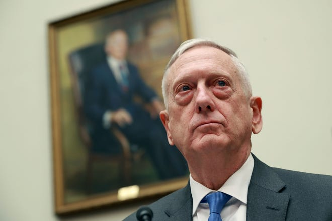 Defense Secretary James Mattis is retiring in February.