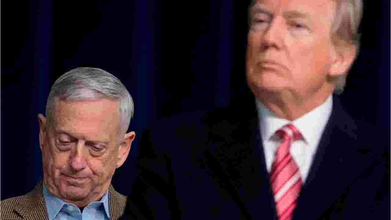 jim mattis donald trump departs from early bromance with generals