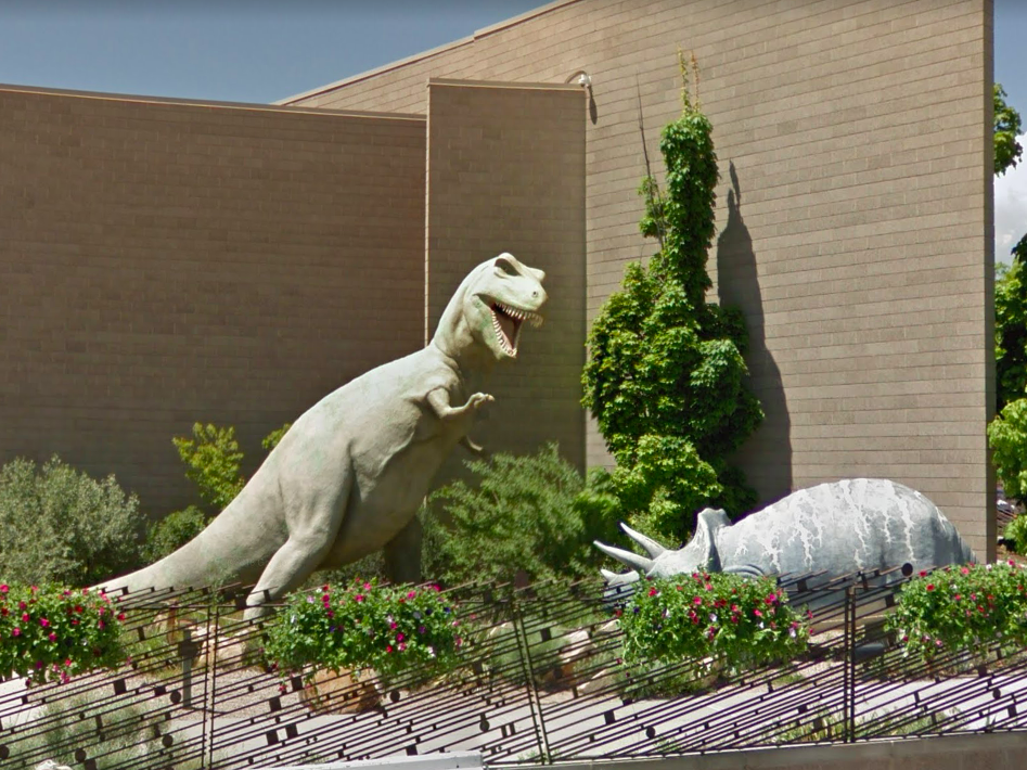 Utah: Roamers will see plenty of fun, colorful dinosaur statues in the Vernal City area, but for a more realistic view, take a detour to see these dinos at the Utah Field House of Natural History State Park Museum.