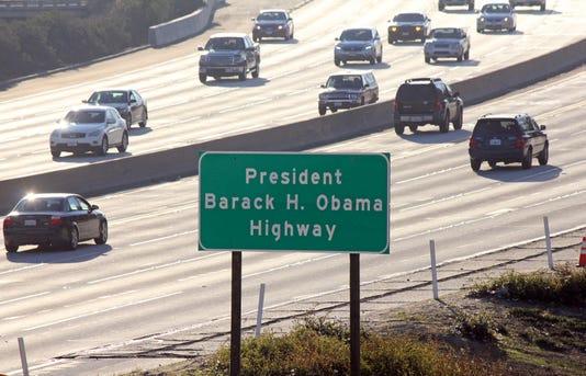 Ap Obama Highway A Usa Ca