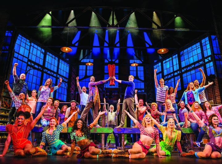 "The main showroom on Norwegian Encore will be home to the Tony Award-winning ""Kinky Boots."""