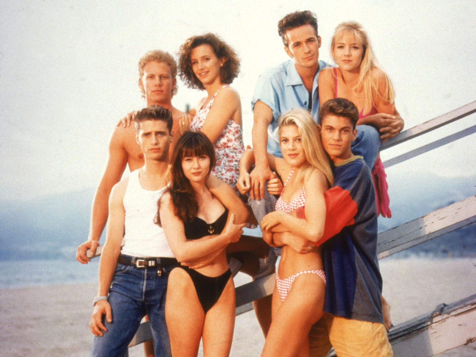 """Nearly two decades after Fox's iconic teen soap """"Beverly Hills 90210"""" left the airwaves, the original cast is reuniting for a reboot in which Fox says they'll play """"heightened versions of themselves."""" Click forward to see what the stars have been up to since leaving West Beverly High."""