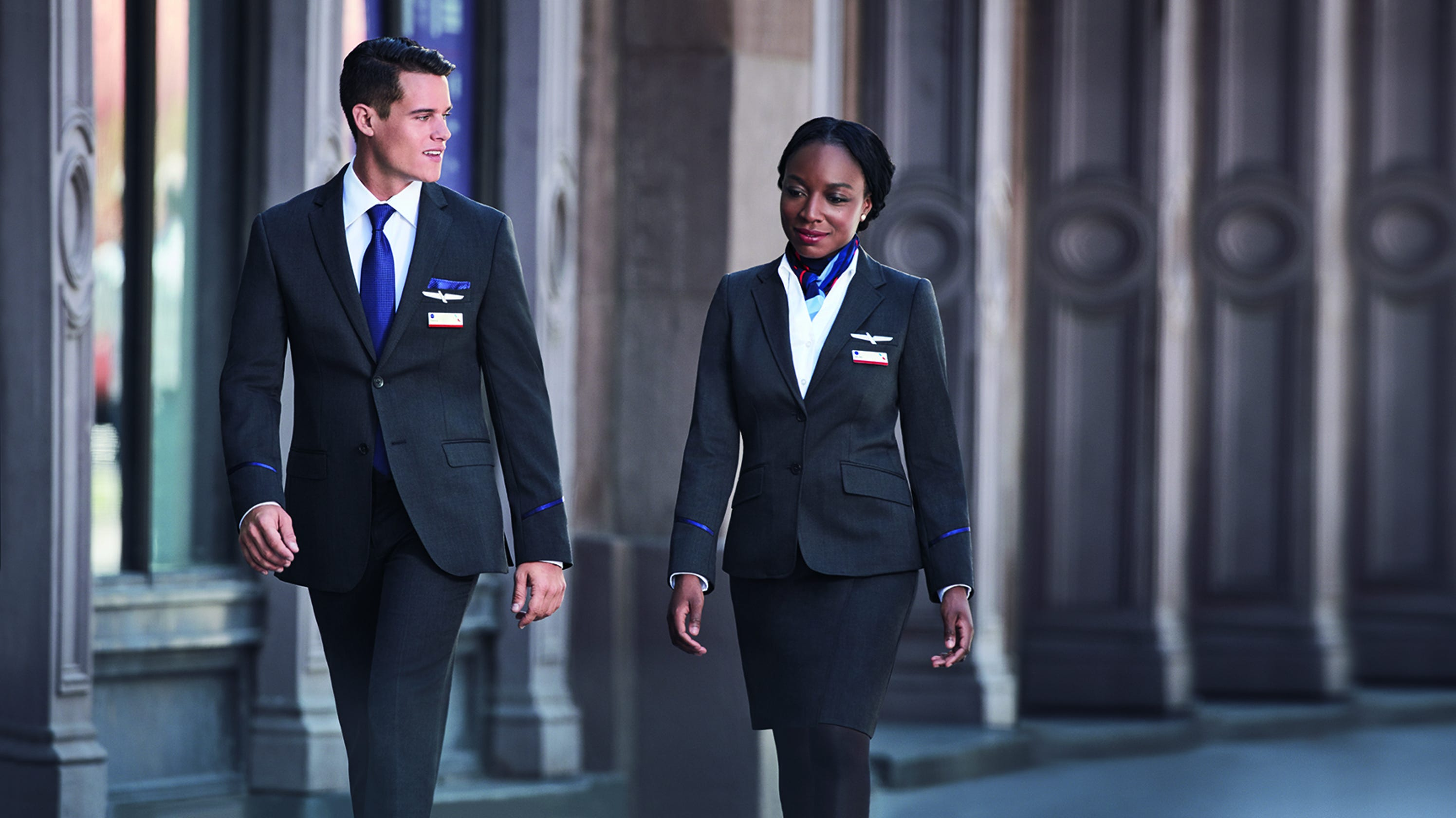 American Airlines Flight Attendants Sue Say New Uniforms