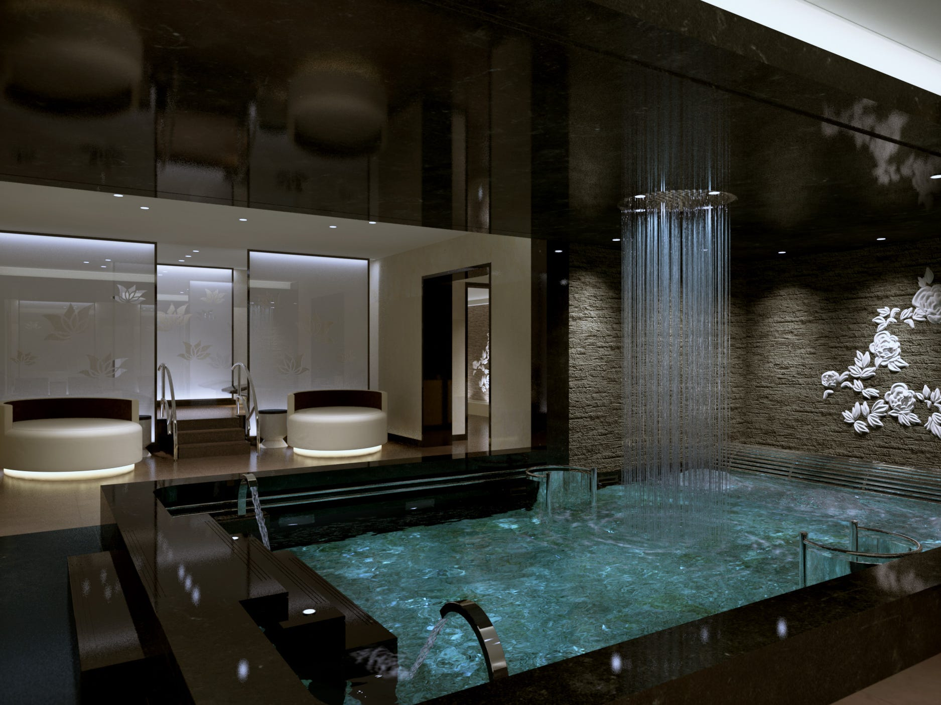 Sky Princess will have a large spa with private areas such as the Enclave.