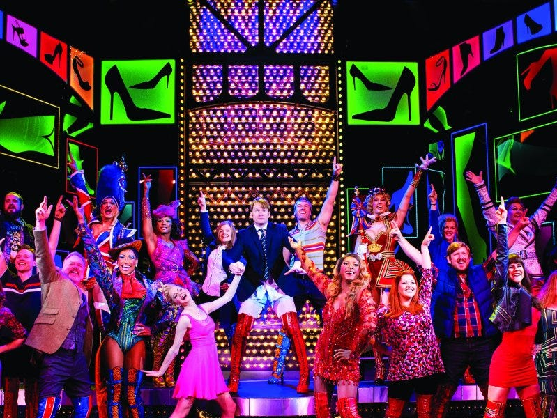 "A scene from ""Kinky Boots,"" the Tony Award-winning show that will be aboard Norwegian Encore."
