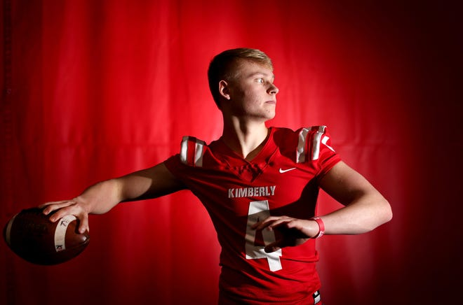 Kimberly quarterback Cody Staerkel is the Post-Crescent's football player of the year.