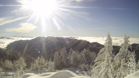 Webcam Image From Newfound Gap On 12 22 18