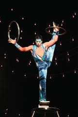 Rolla Bolla is one of the acts with Cirque Musica.