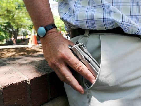Concealed Gun In Pocket