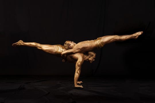 The acrobatic troupe Cirque Musica will perform with the Asheville Symphony Orchestra New Year's Eve.